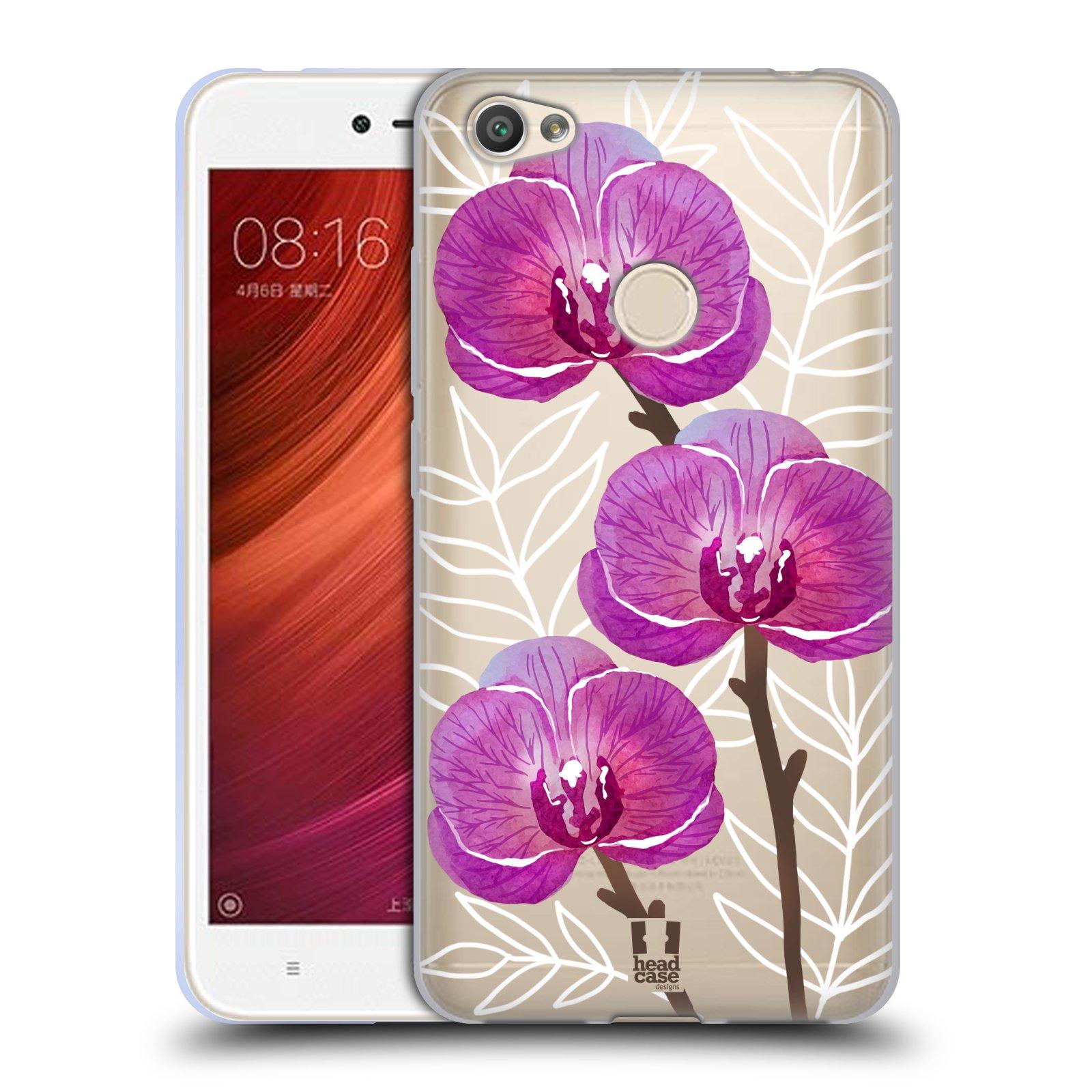 Silikonové pouzdro na mobil Xiaomi Redmi Note 5A - Head Case - Hezoučké kvítky - průhledné