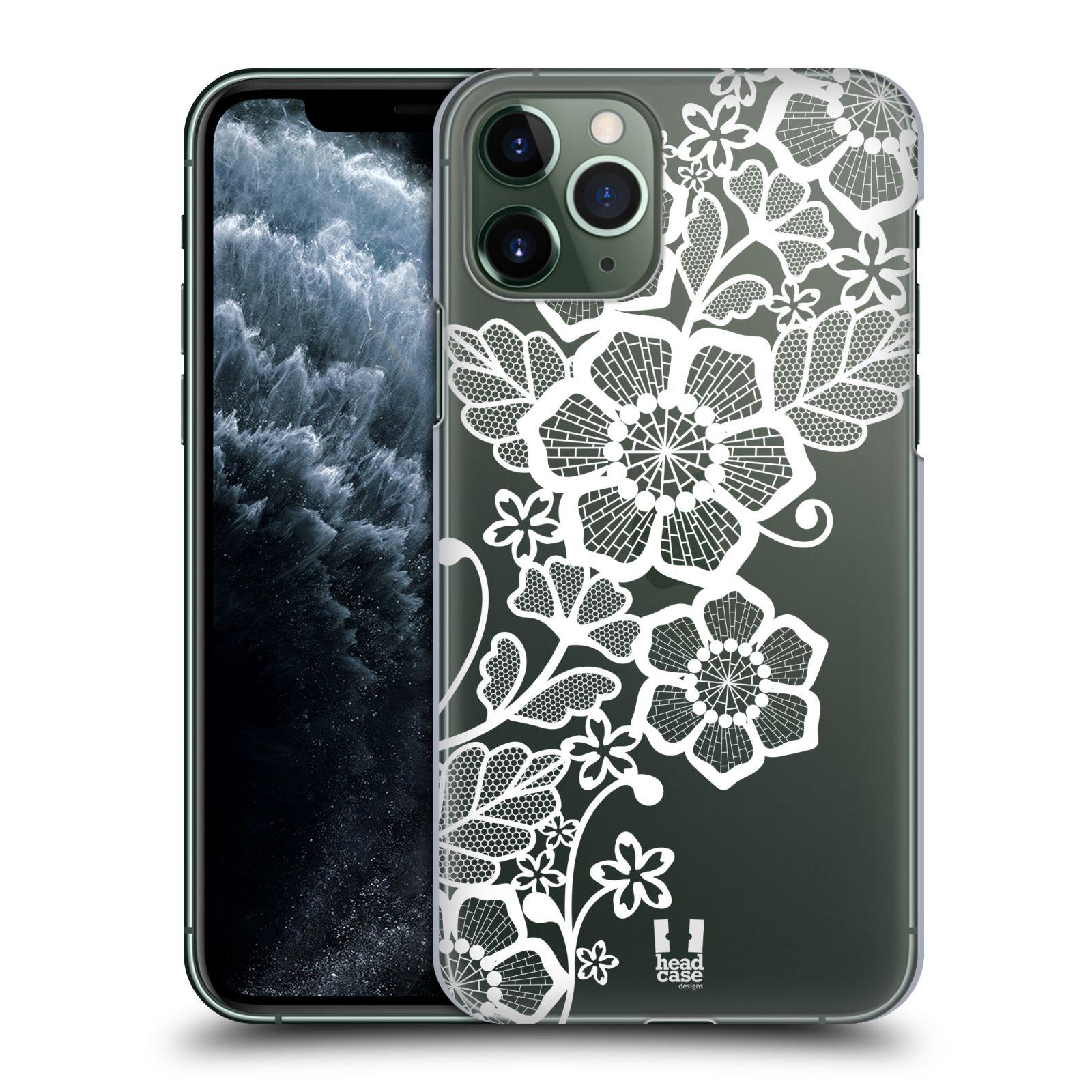 gumový obaly iphone 7 , Plastové pouzdro na mobil Apple iPhone 11 Pro - Head Case - Bílé krajkové květy