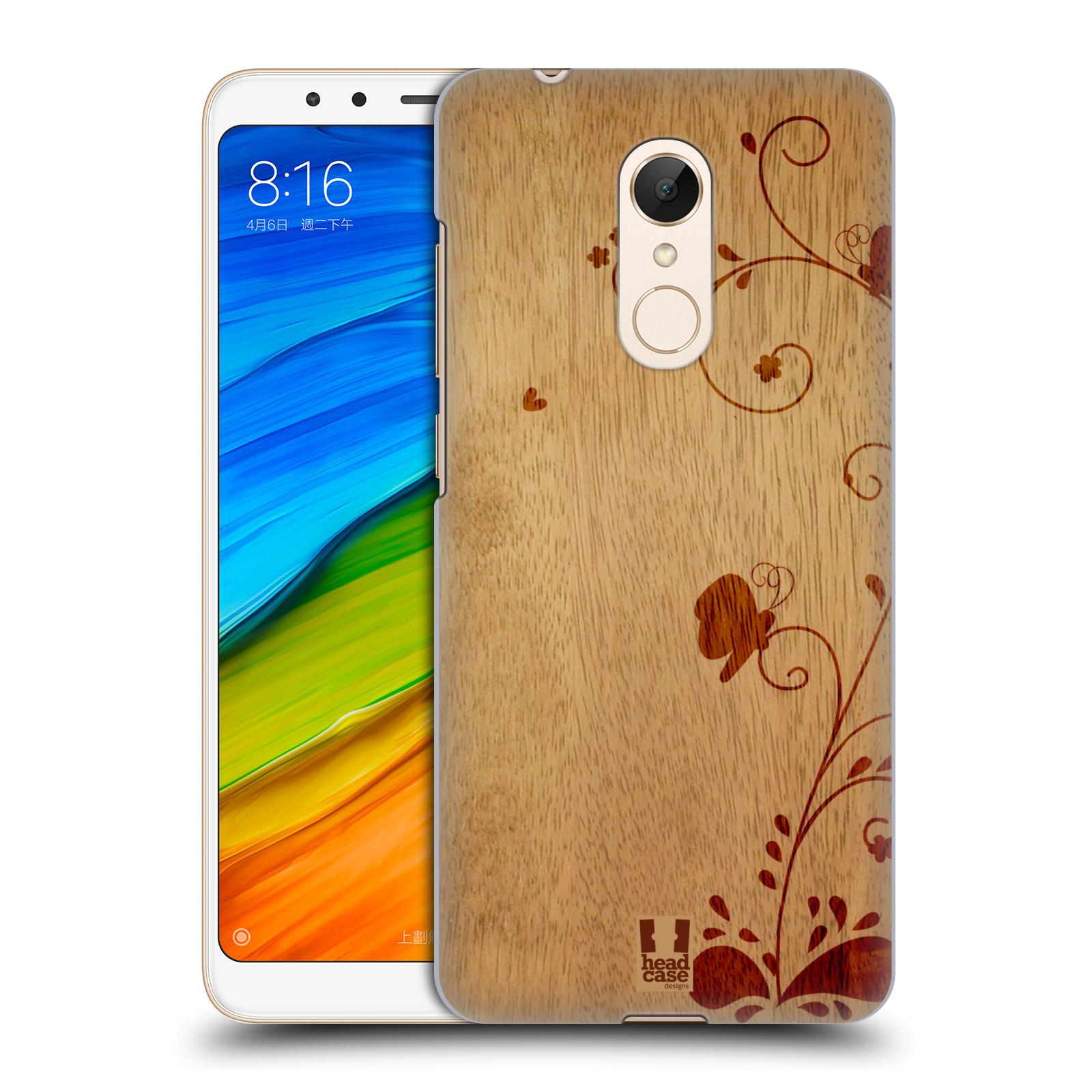 Plastové pouzdro na mobil Xiaomi Redmi 5 - Head Case - WOODART SWIRL