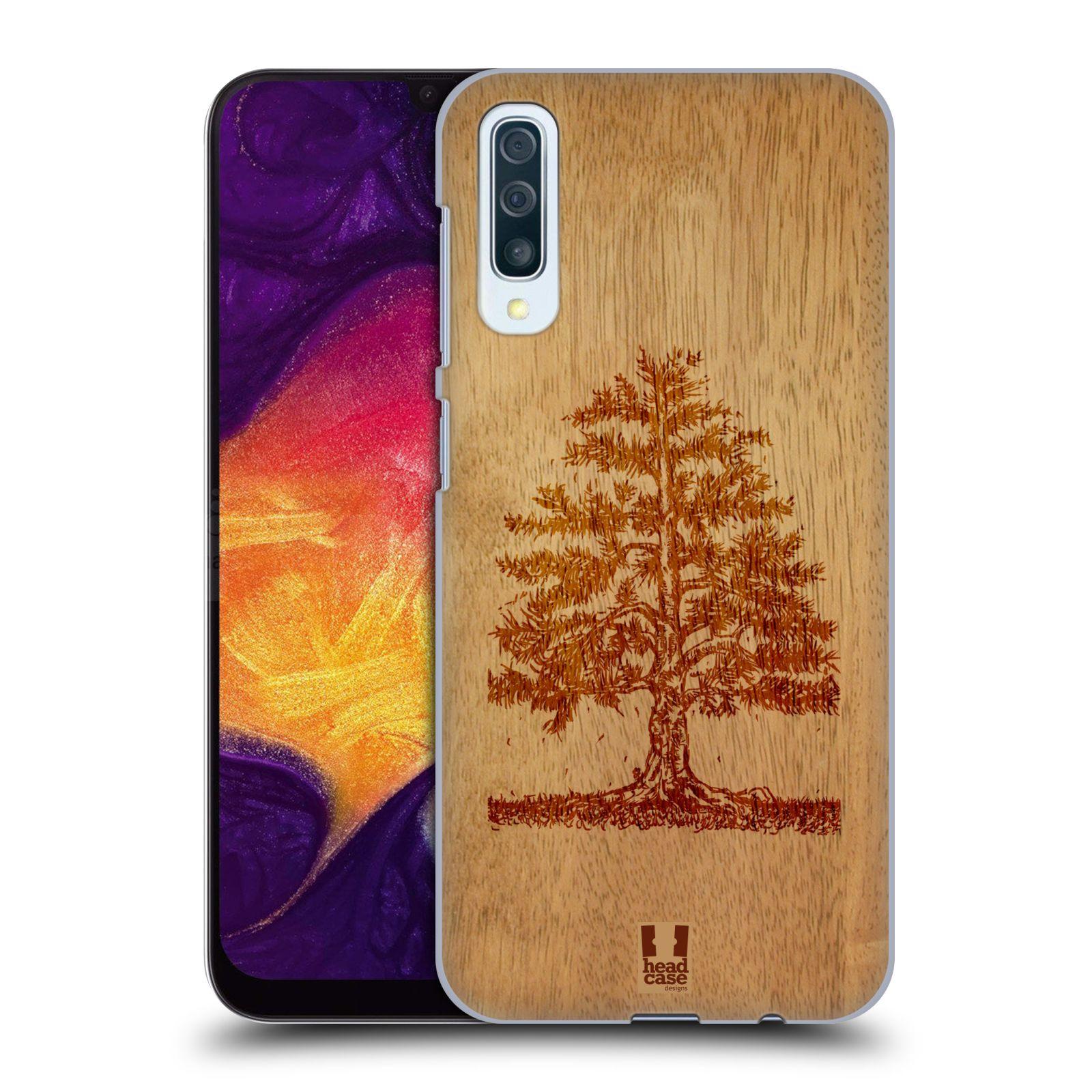 Plastové pouzdro na mobil Samsung Galaxy A50 / A30s - Head Case - WOODART TREE