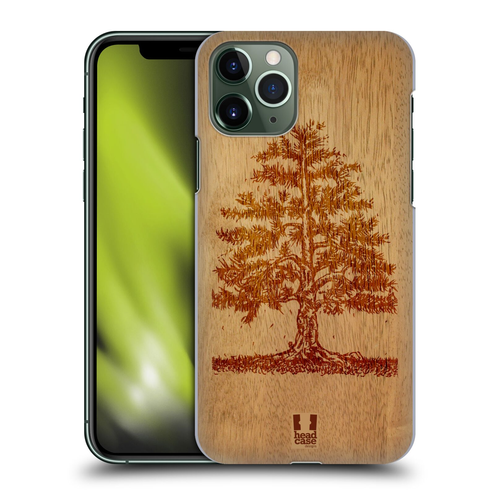 kryt na iphone 8 bmw , Plastové pouzdro na mobil Apple iPhone 11 Pro - Head Case - WOODART TREE