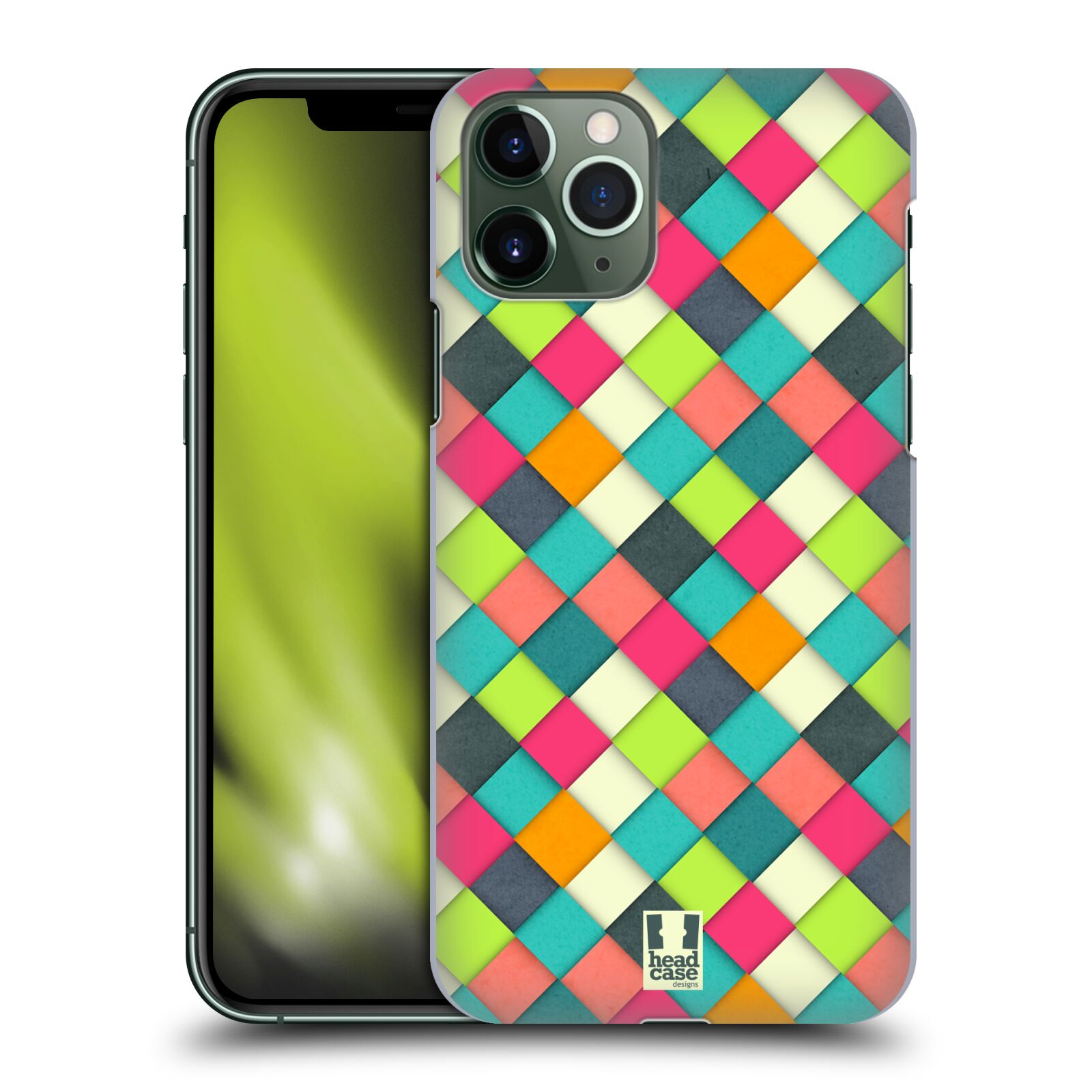 gucci iphone 8 plus flip case | Plastové pouzdro na mobil Apple iPhone 11 Pro - Head Case - WOVEN