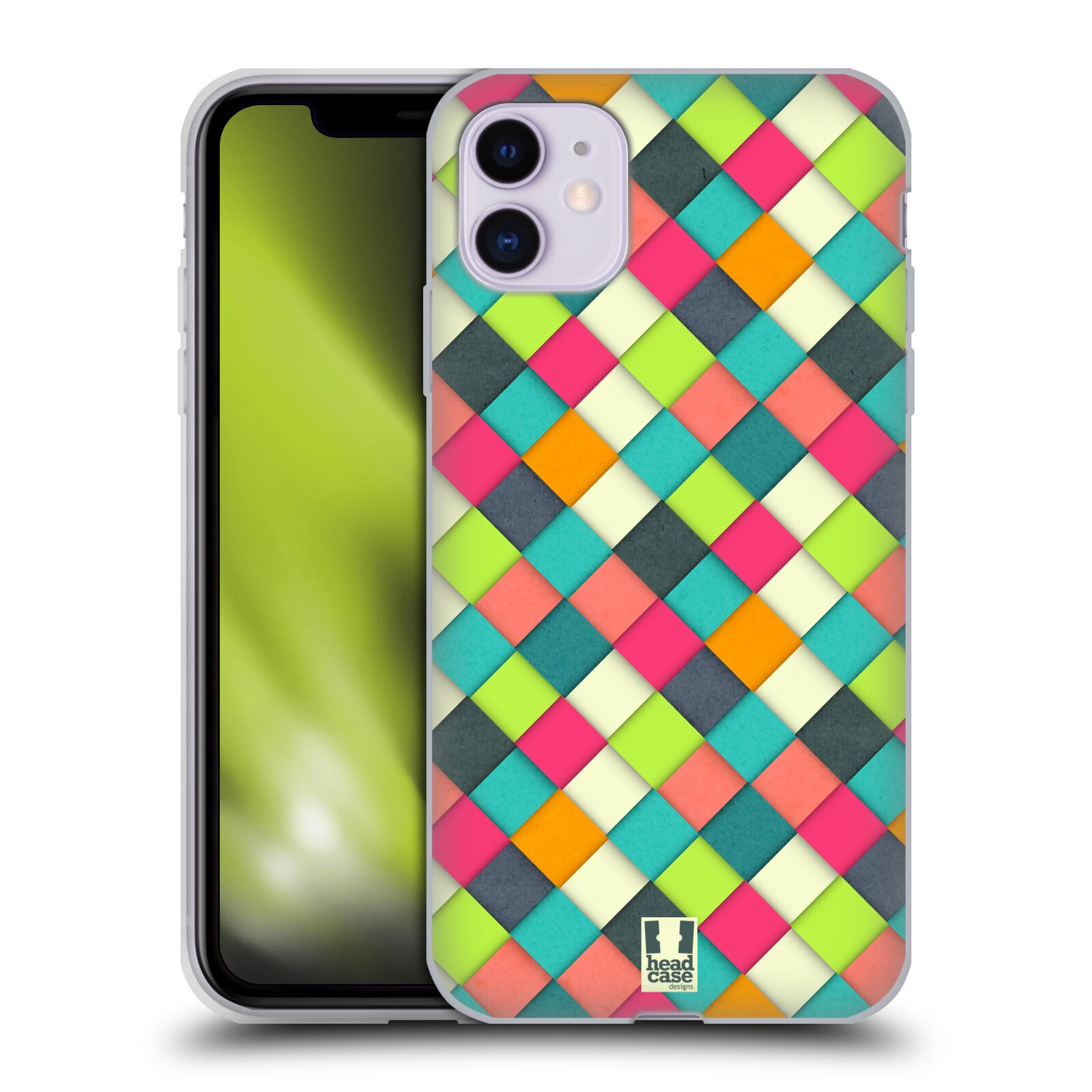 Silikonové pouzdro na mobil Apple iPhone 11 - Head Case - WOVEN