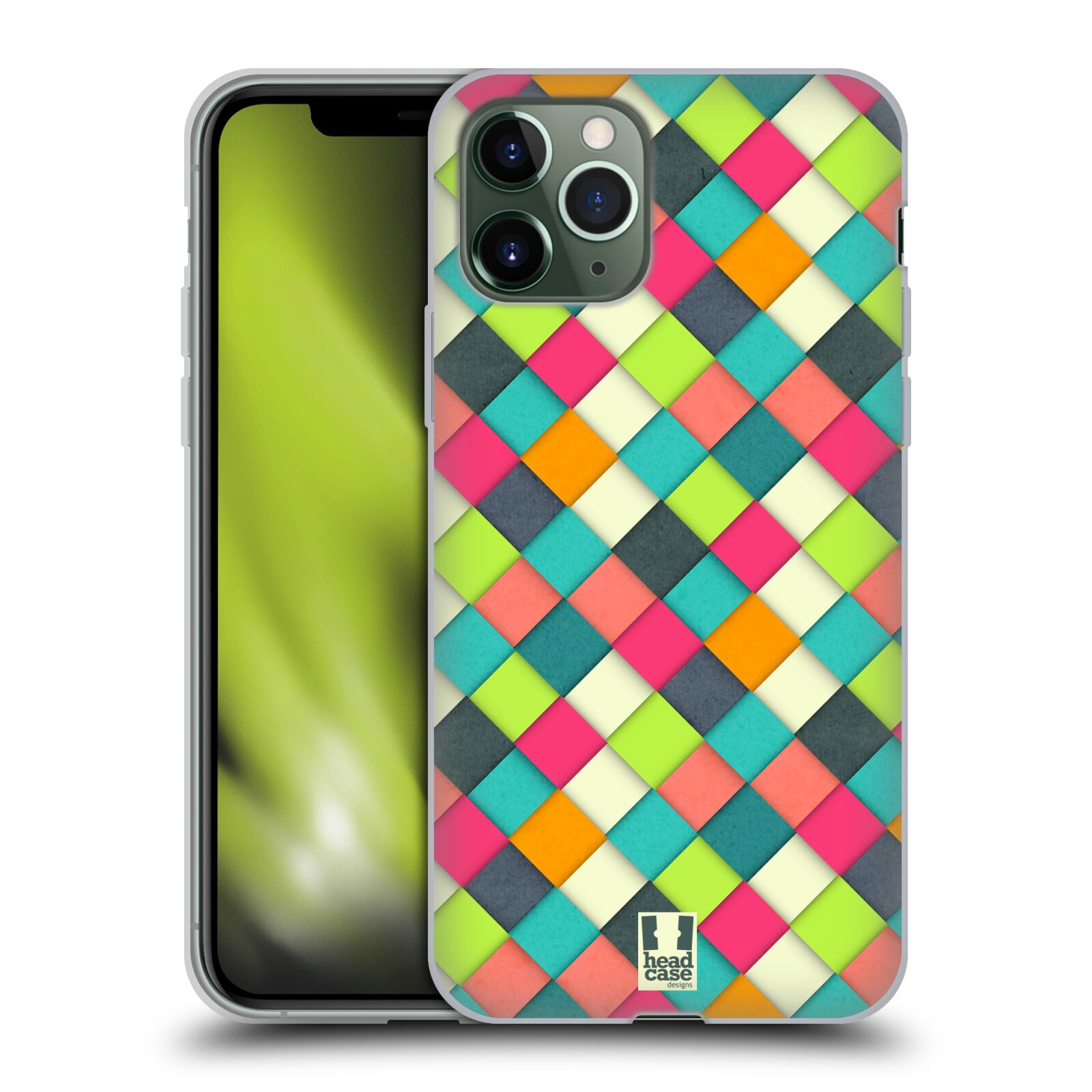kryt na iphone 7 minnie , Silikonové pouzdro na mobil Apple iPhone 11 Pro - Head Case - WOVEN