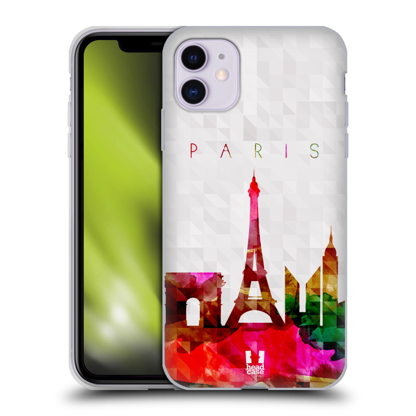 Silikonové pouzdro na mobil Apple iPhone 11 - Head Case - SKYLINE PAŘIŽ