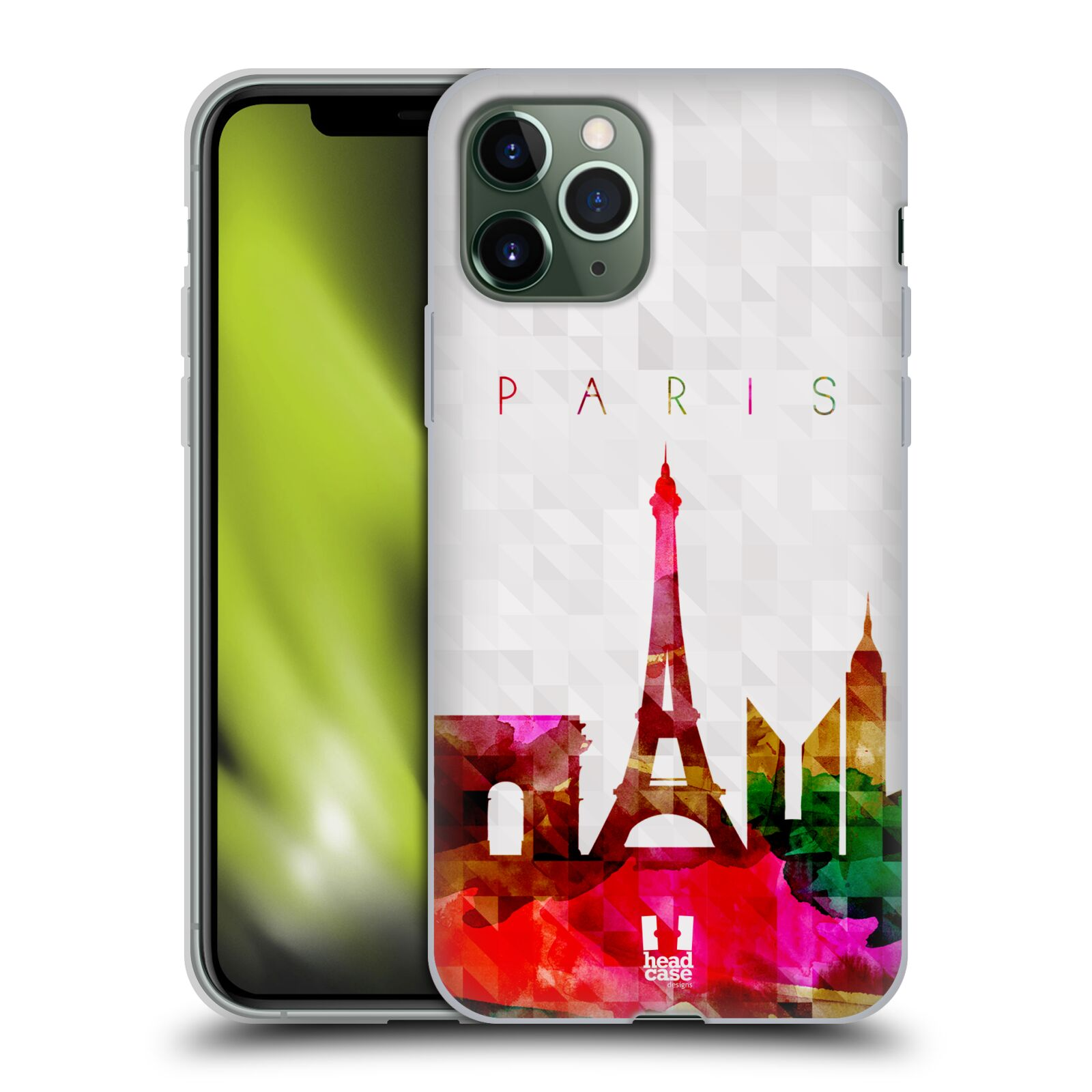 kryt iphone 7 apple | Silikonové pouzdro na mobil Apple iPhone 11 Pro - Head Case - SKYLINE PAŘIŽ