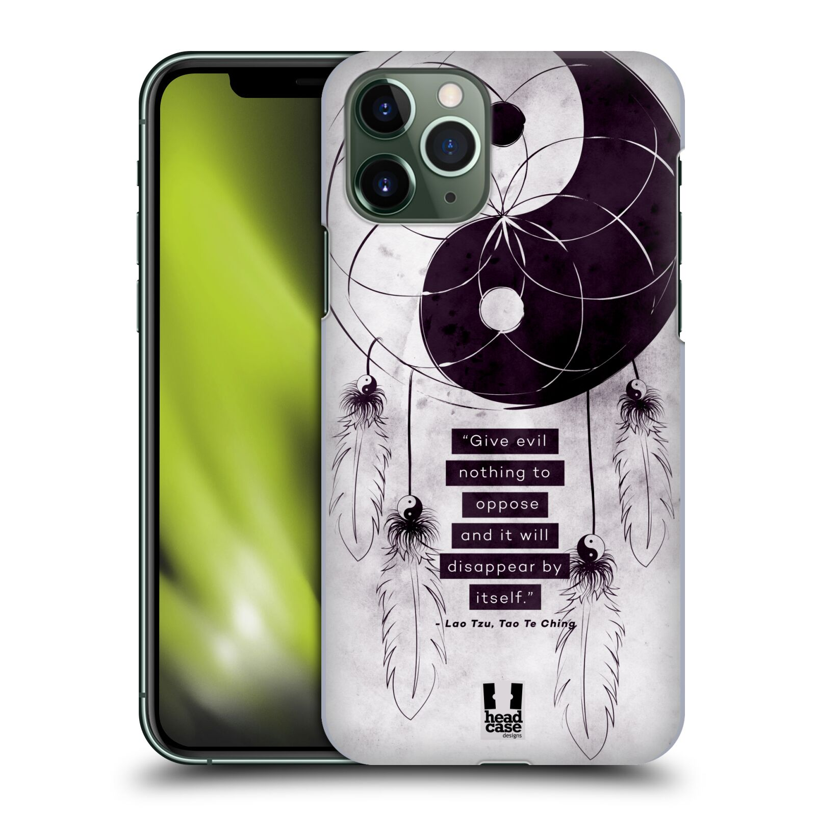 karl obaly iphone 6 plus , Plastové pouzdro na mobil Apple iPhone 11 Pro - Head Case - Yin a Yang CATCHER