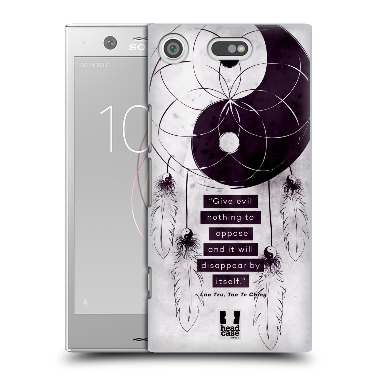 Plastové pouzdro na mobil Sony Xperia XZ1 Compact - Head Case - Yin a Yang CATCHER