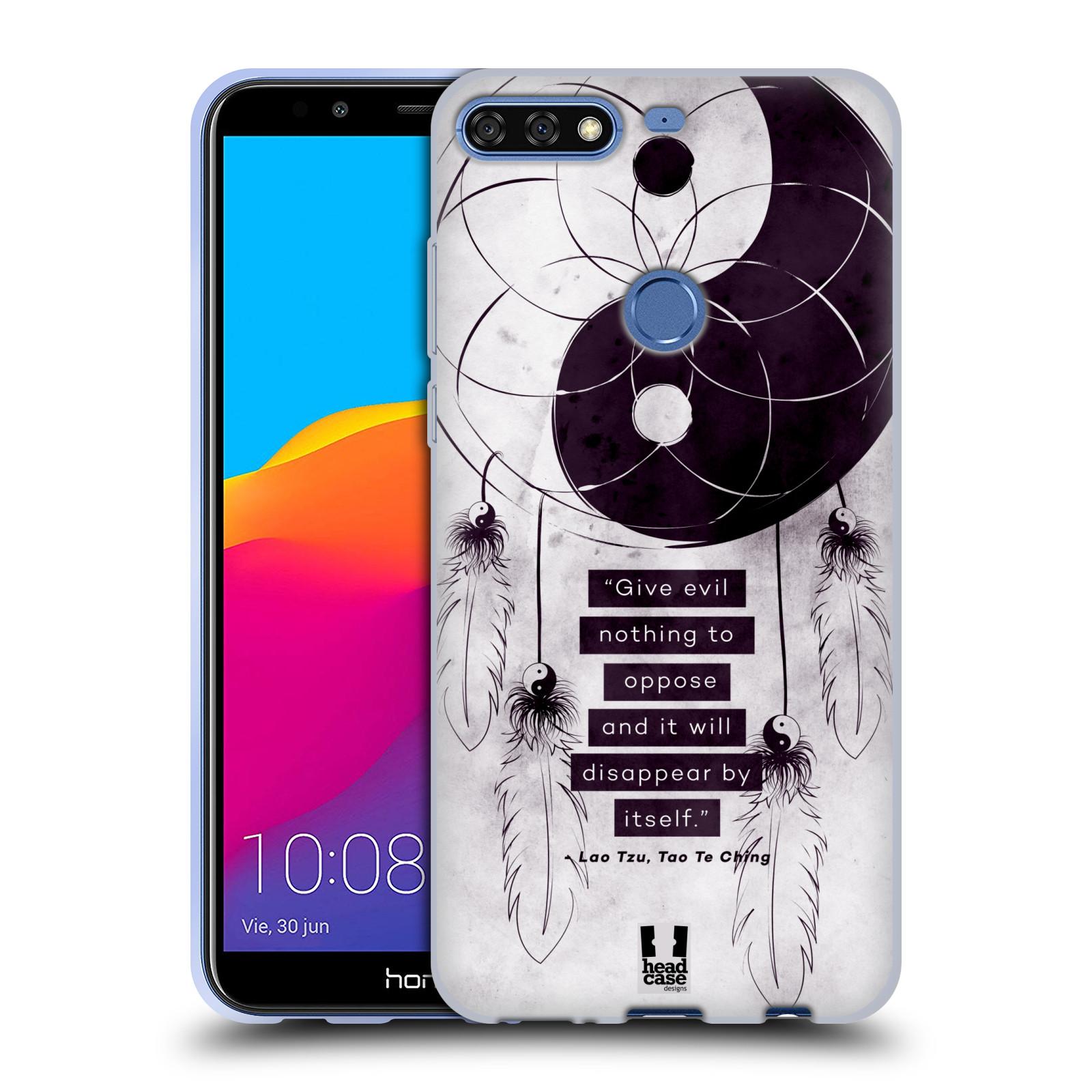 Silikonové pouzdro na mobil Huawei Y7 Prime (2018) - Head Case - YIn a Yang CATCHER
