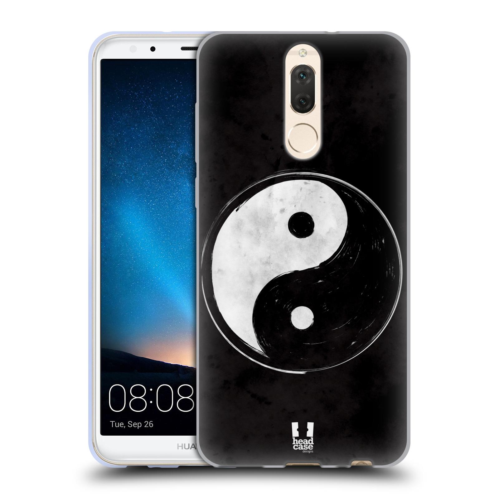Silikonové pouzdro na mobil Huawei Mate 10 Lite - Head Case - YIn a Yang  BW