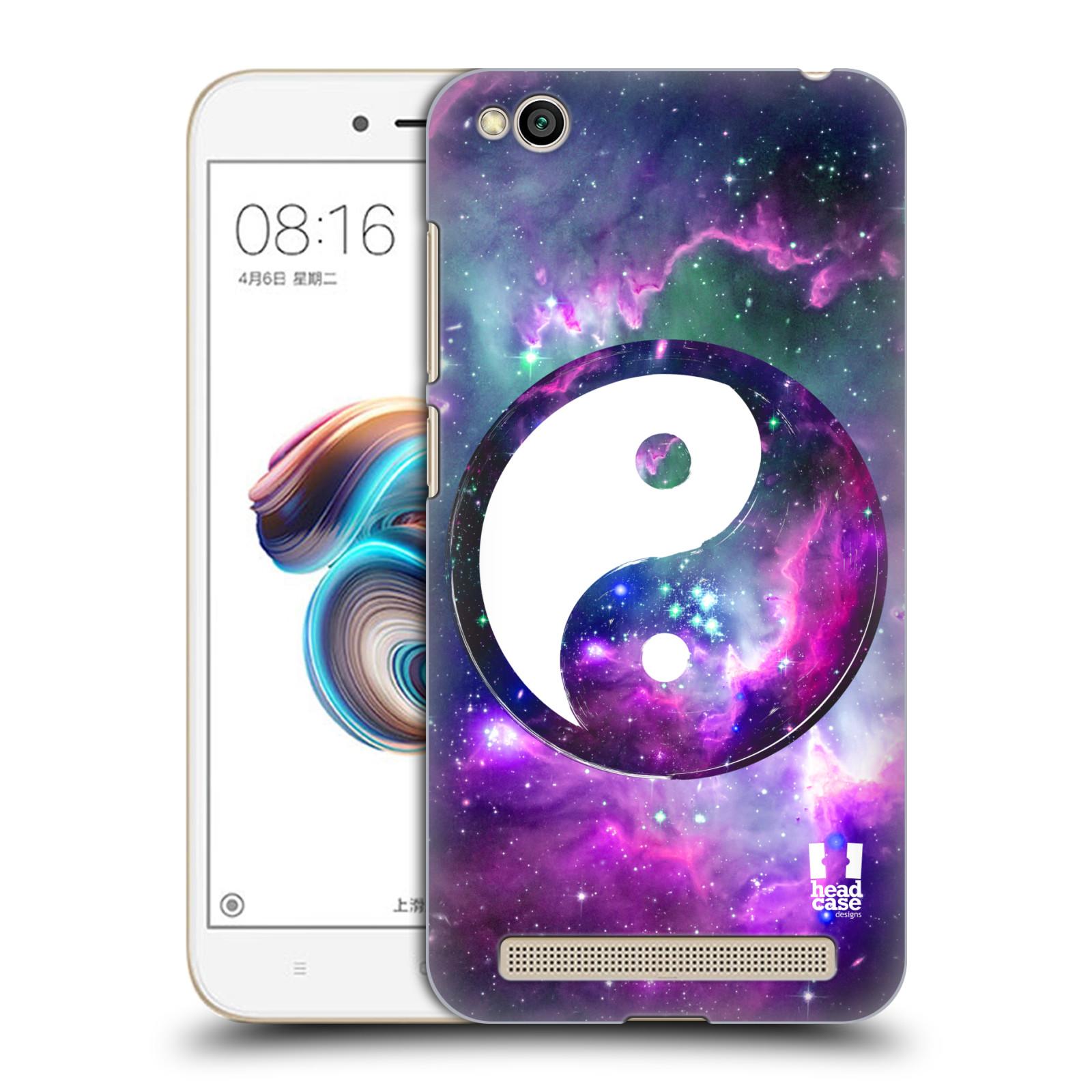 Plastové pouzdro na mobil Xiaomi Redmi 5A - Head Case - Yin a Yang PURPLE