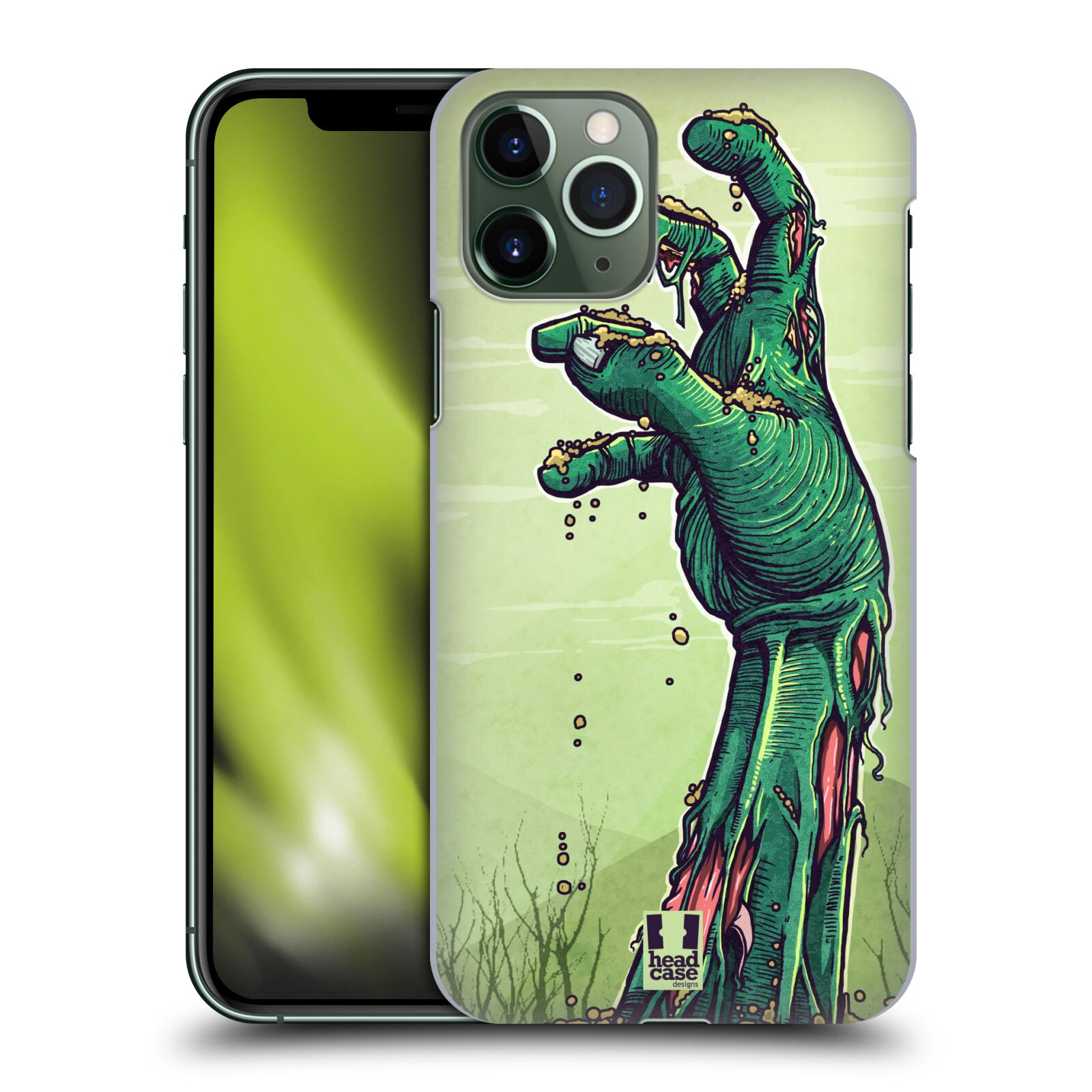gucci iphone x r case - Plastové pouzdro na mobil Apple iPhone 11 Pro - Head Case - ZOMBIE RUKA
