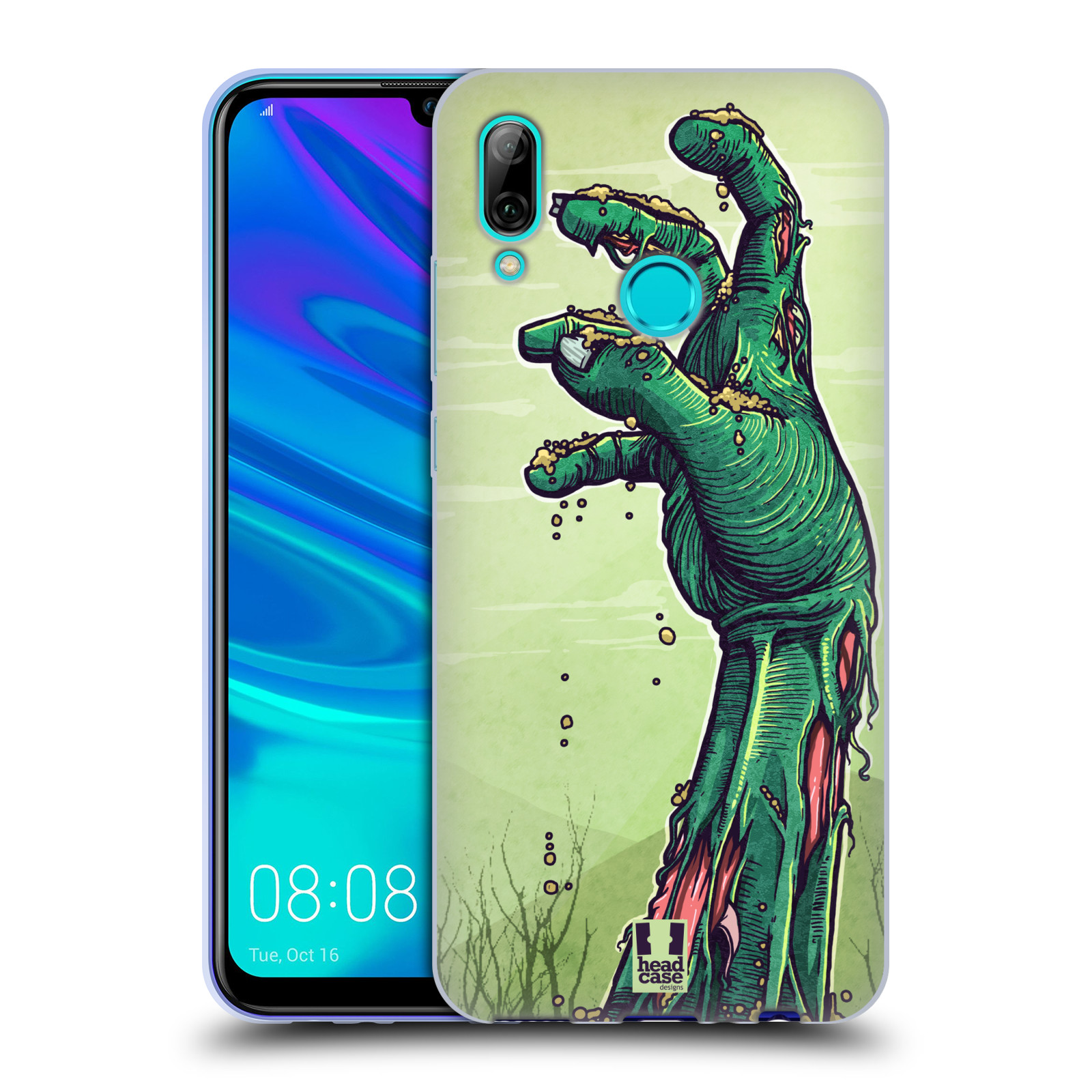 Silikonové pouzdro na mobil Huawei P Smart (2019) - Head Case - ZOMBIE RUKA