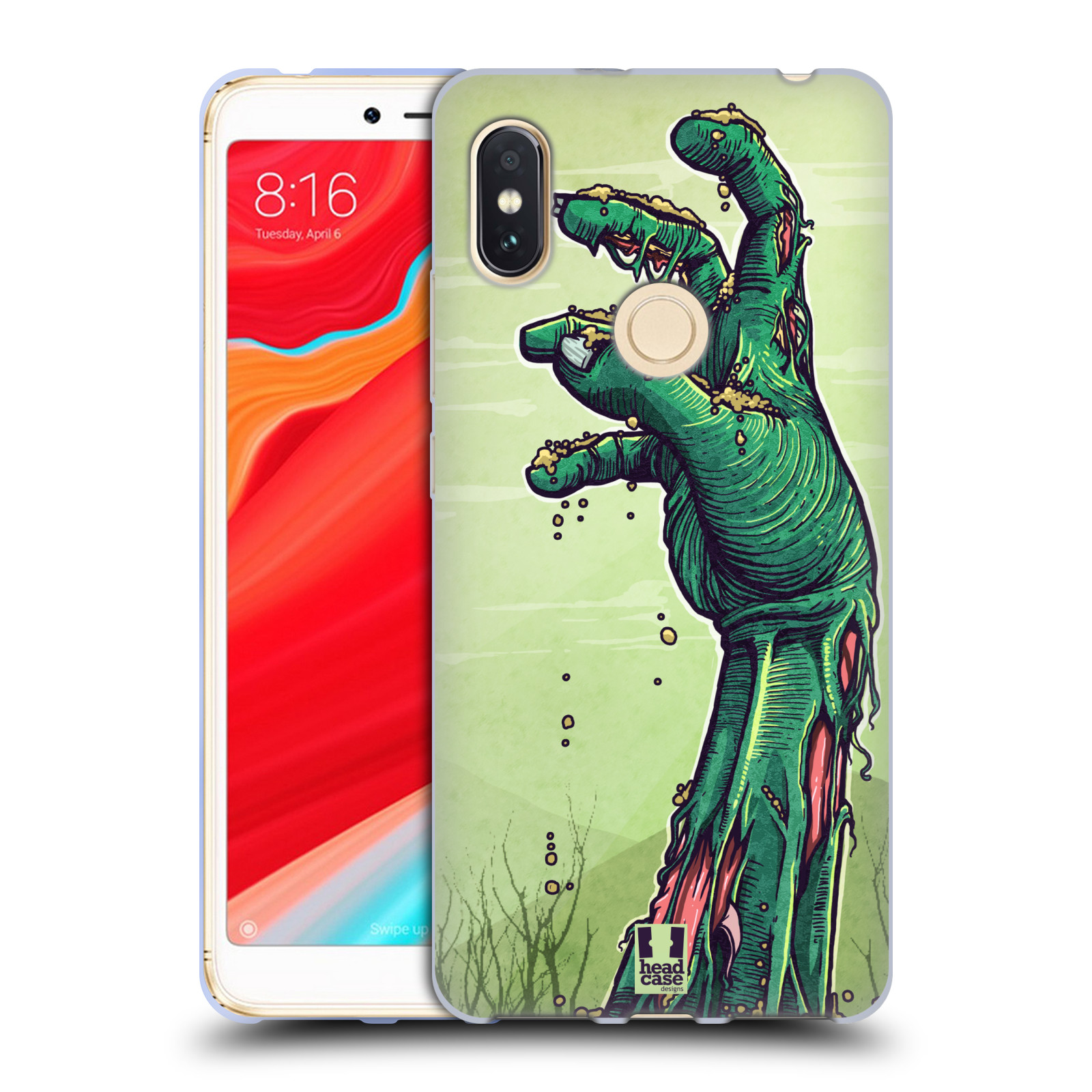Silikonové pouzdro na mobil Xiaomi Redmi S2 - Head Case - ZOMBIE RUKA