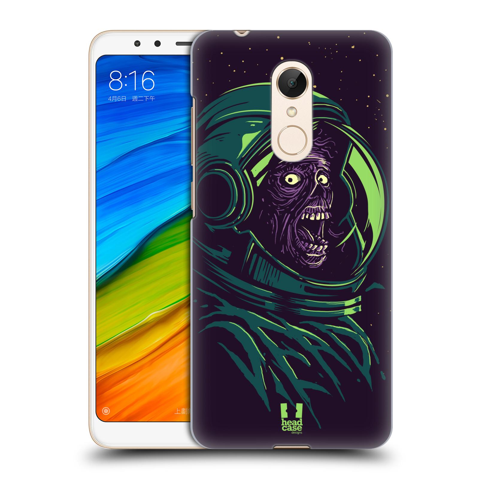 Plastové pouzdro na mobil Xiaomi Redmi 5 - Head Case - ZOMBIE VESMÍR ... 6c2c32946d6