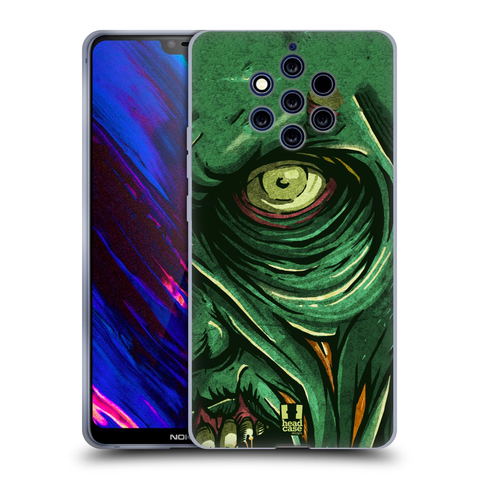 Silikonové pouzdro na mobil Nokia 9 PureView - Head Case - ZOMBIE TVÁŘ