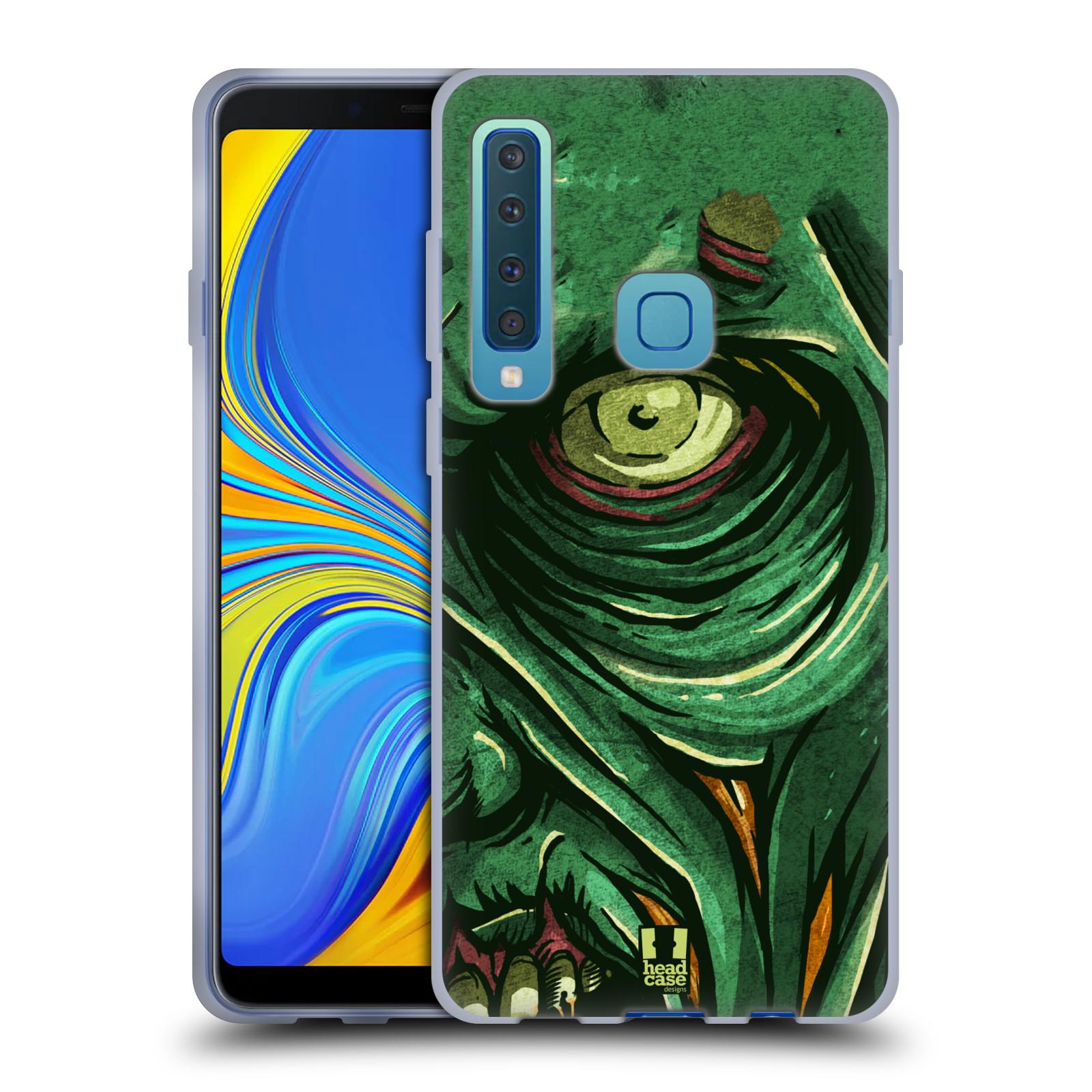 Silikonové pouzdro na mobil Samsung Galaxy A9 (2018) - Head Case - ZOMBIE TVÁŘ