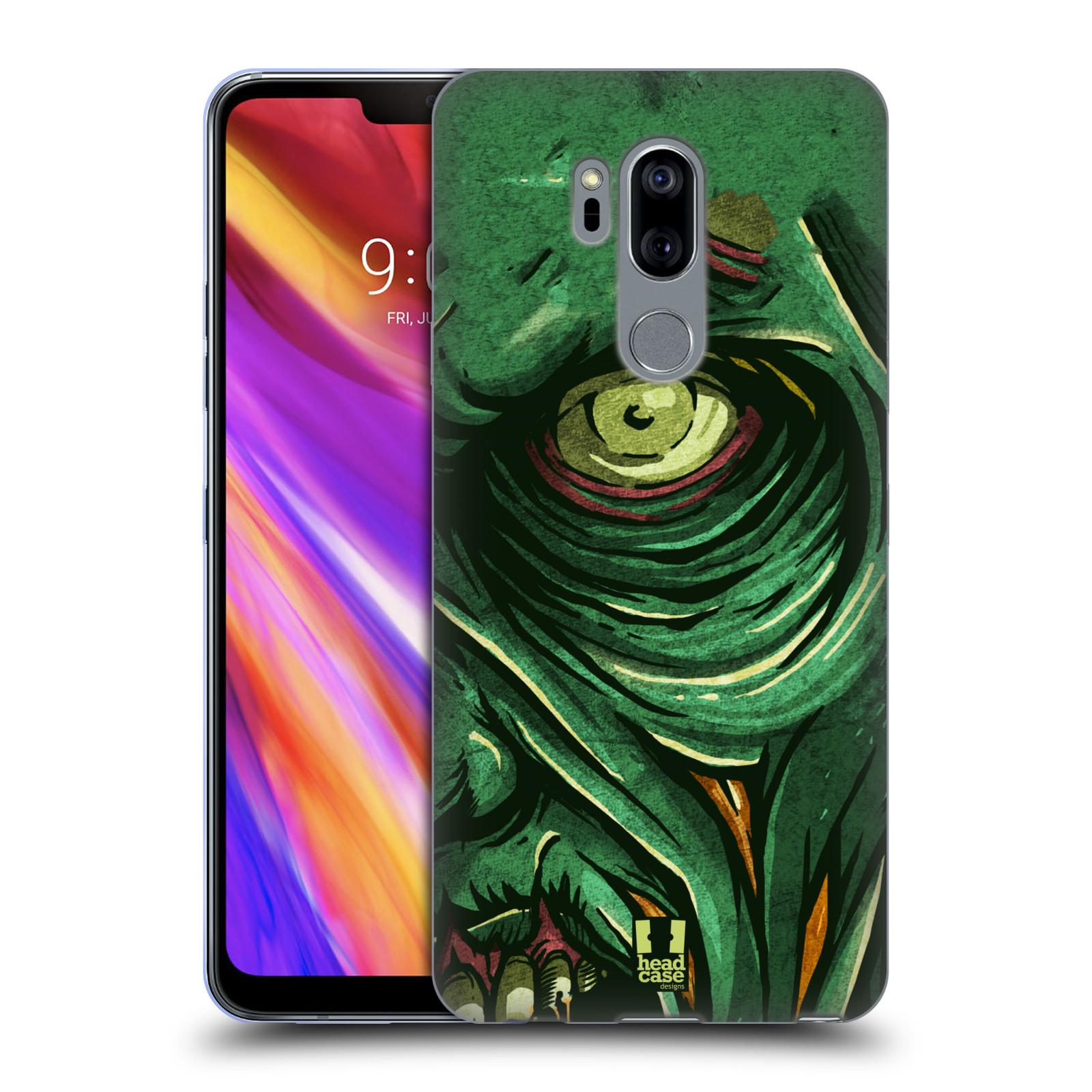 Silikonové pouzdro na mobil LG G7 ThinQ - Head Case - ZOMBIE TVÁŘ