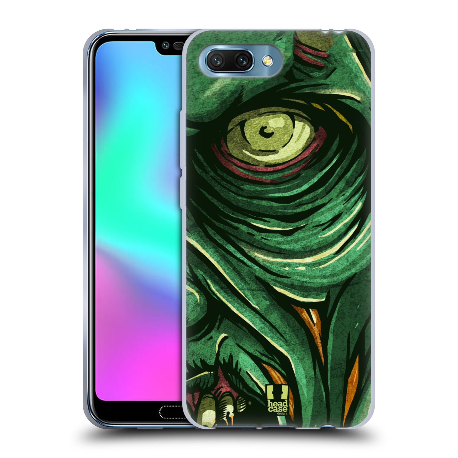 Silikonové pouzdro na mobil Honor 10 - Head Case - ZOMBIE TVÁŘ