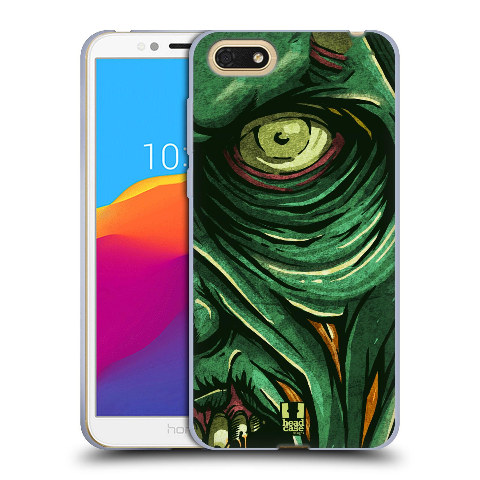 Silikonové pouzdro na mobil Honor 7S - Head Case - ZOMBIE TVÁŘ