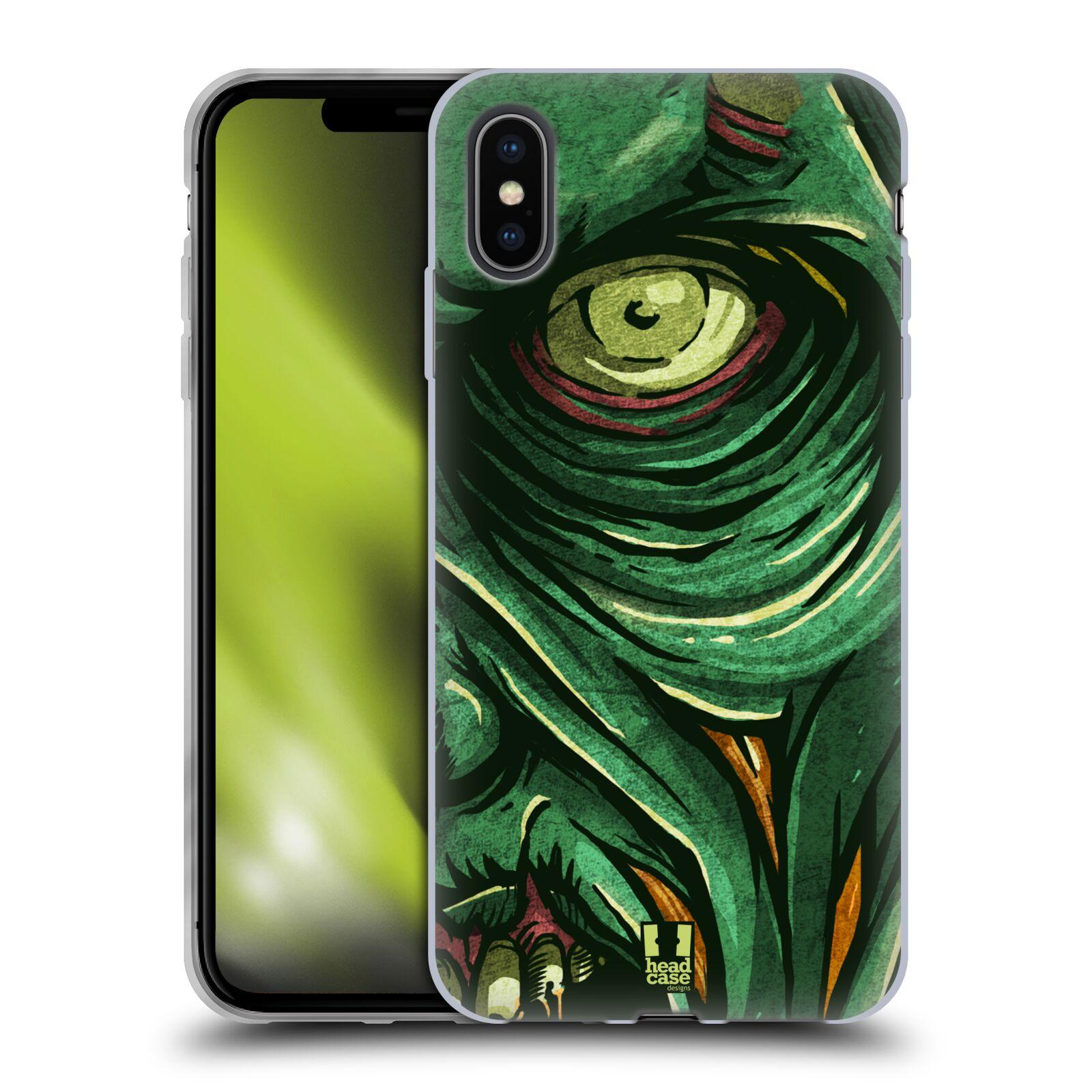 Silikonové pouzdro na mobil Apple iPhone XS Max - Head Case - ZOMBIE TVÁŘ