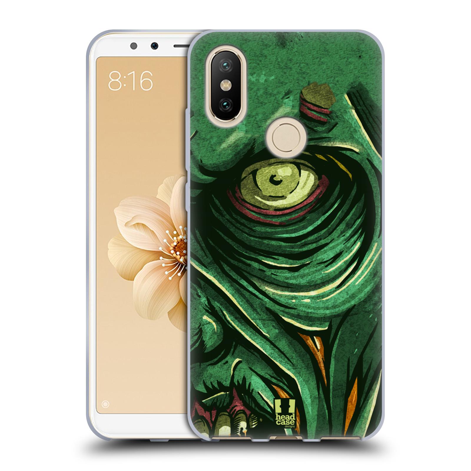 Silikonové pouzdro na mobil Xiaomi Mi A2 - Head Case - ZOMBIE TVÁŘ