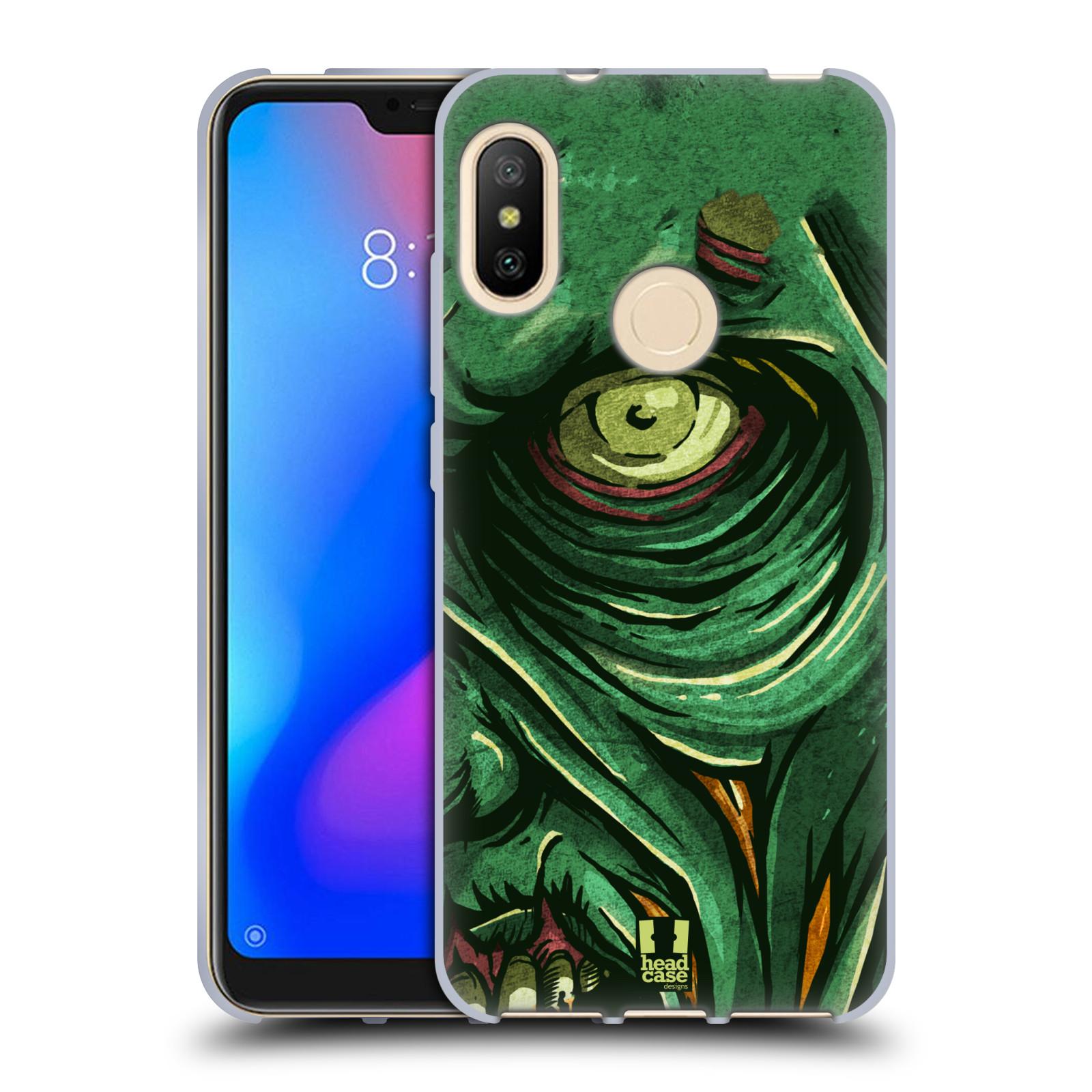 Silikonové pouzdro na mobil Xiaomi Mi A2 Lite - Head Case - ZOMBIE TVÁŘ