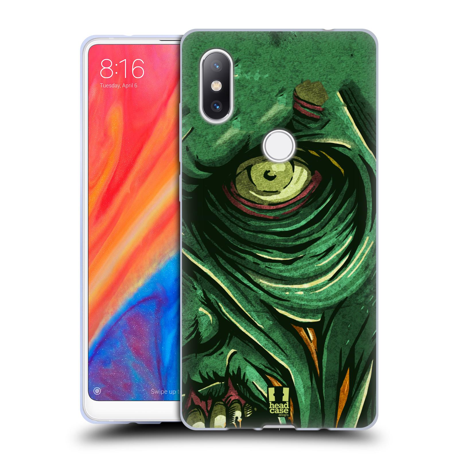 Silikonové pouzdro na mobil Xiaomi Mi Mix 2S - Head Case - ZOMBIE TVÁŘ