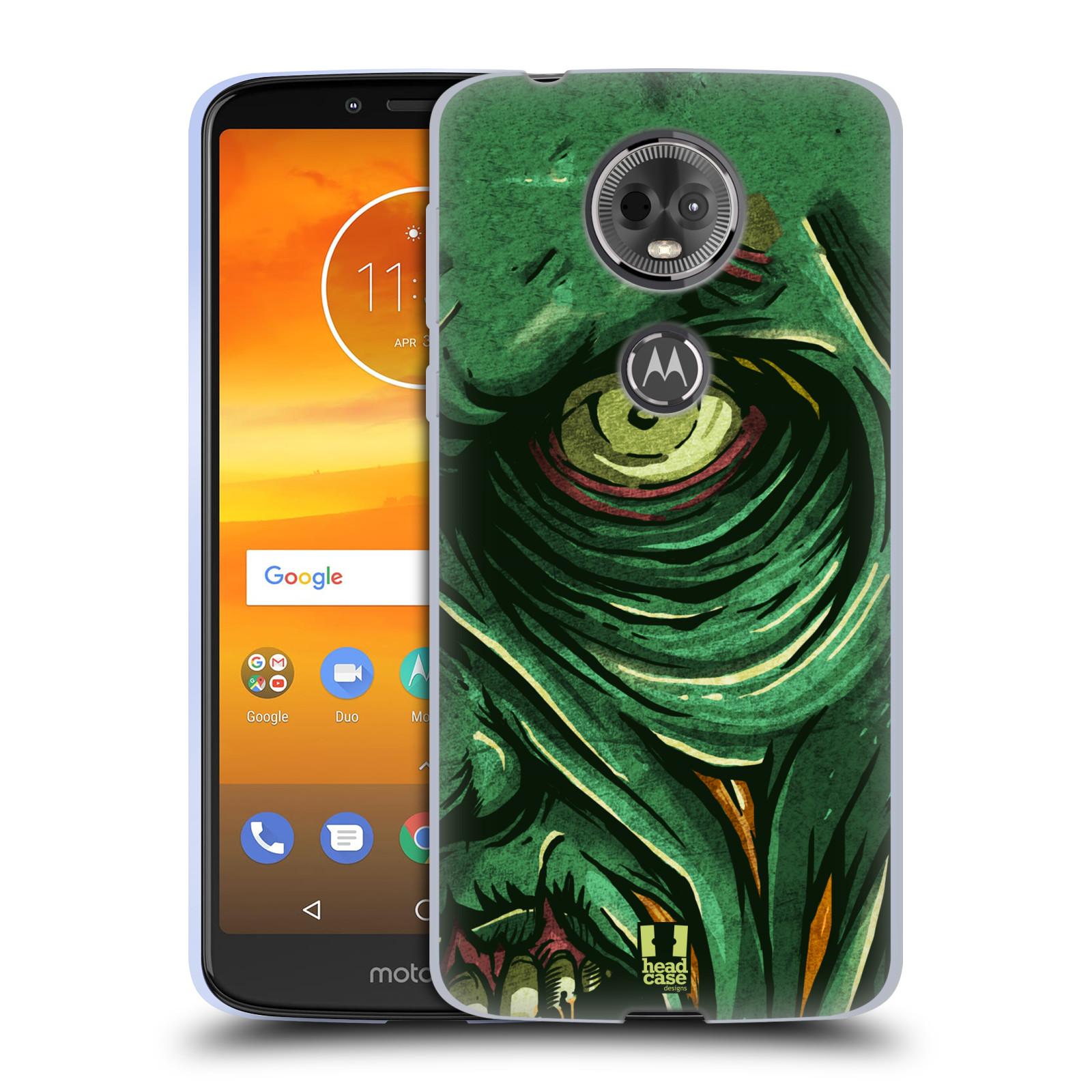 Silikonové pouzdro na mobil Motorola Moto E5 Plus - Head Case - ZOMBIE TVÁŘ