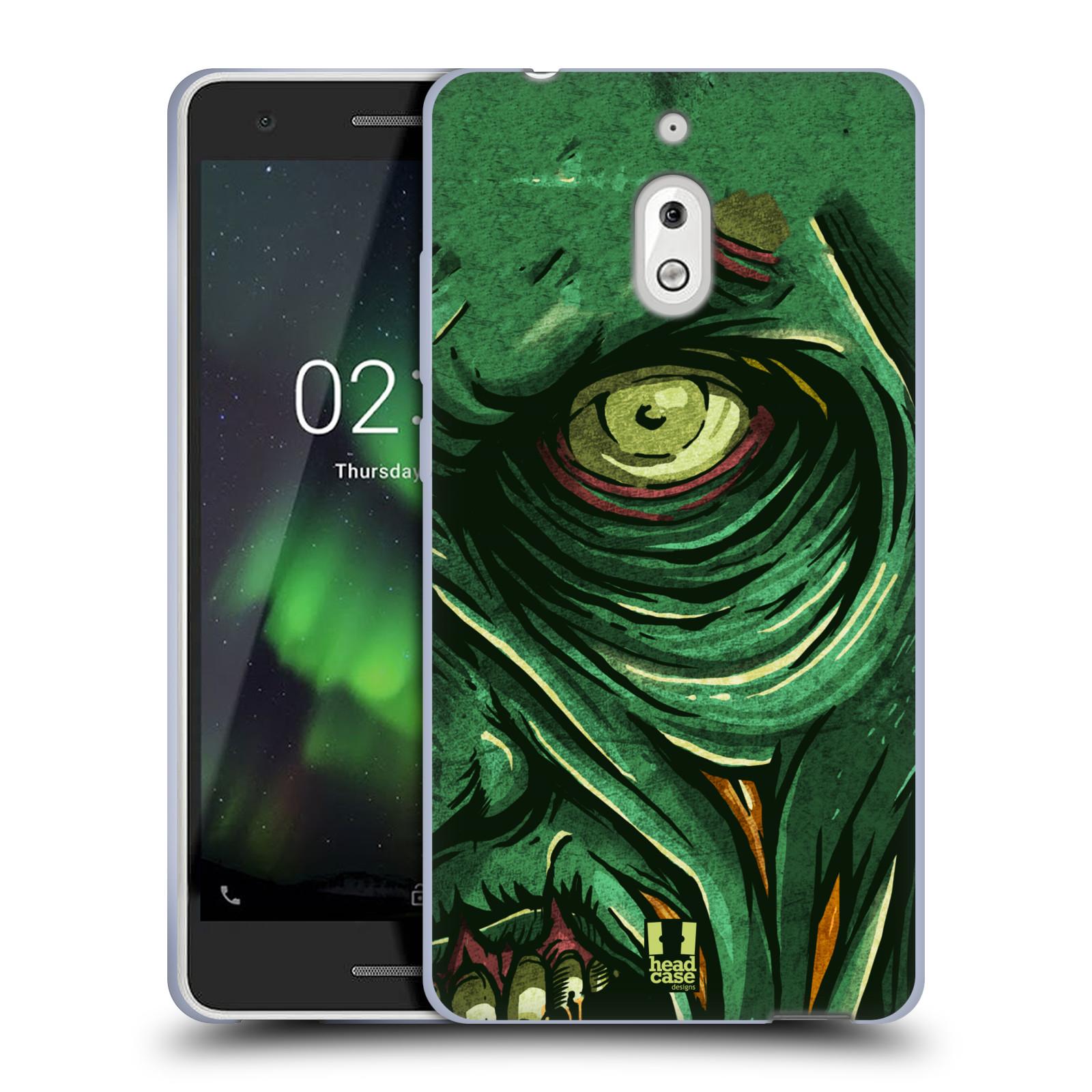 Silikonové pouzdro na mobil Nokia 2.1 - Head Case - ZOMBIE TVÁŘ