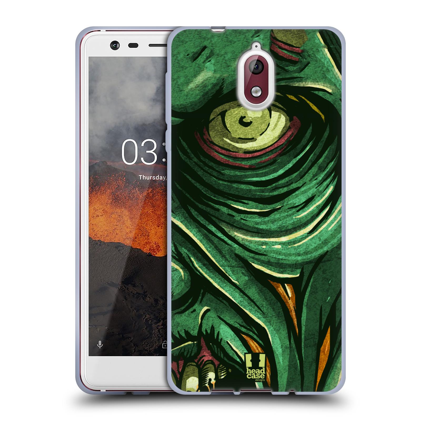 Silikonové pouzdro na mobil Nokia 3.1 - Head Case - ZOMBIE TVÁŘ