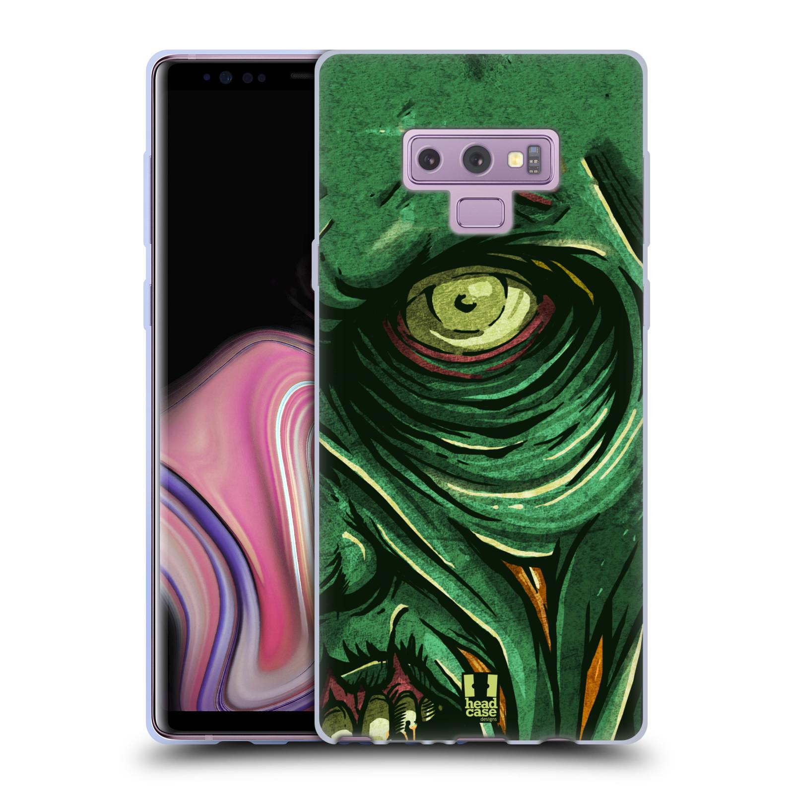 Silikonové pouzdro na mobil Samsung Galaxy Note 9 - Head Case - ZOMBIE TVÁŘ