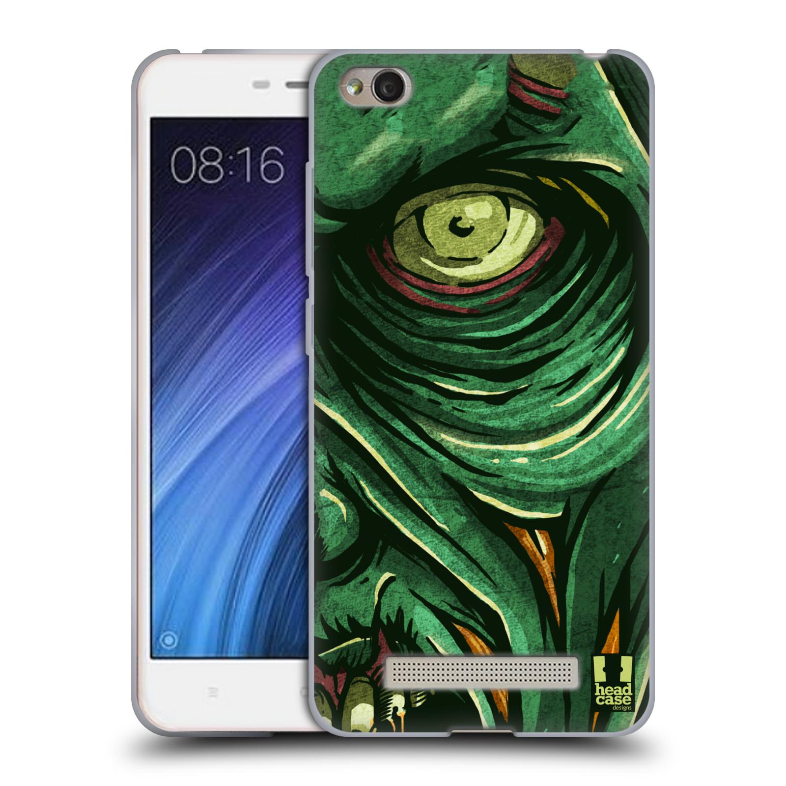 Silikonové pouzdro na mobil Xiaomi Redmi 4A - Head Case - ZOMBIE TVÁŘ