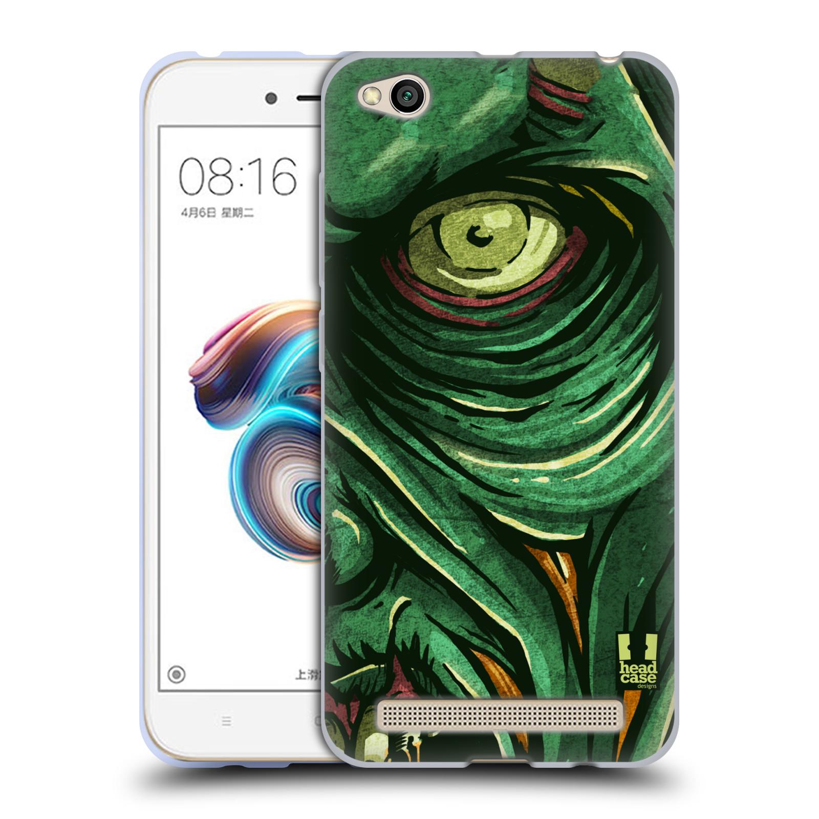 Silikonové pouzdro na mobil Xiaomi Redmi 5A - Head Case - ZOMBIE TVÁŘ