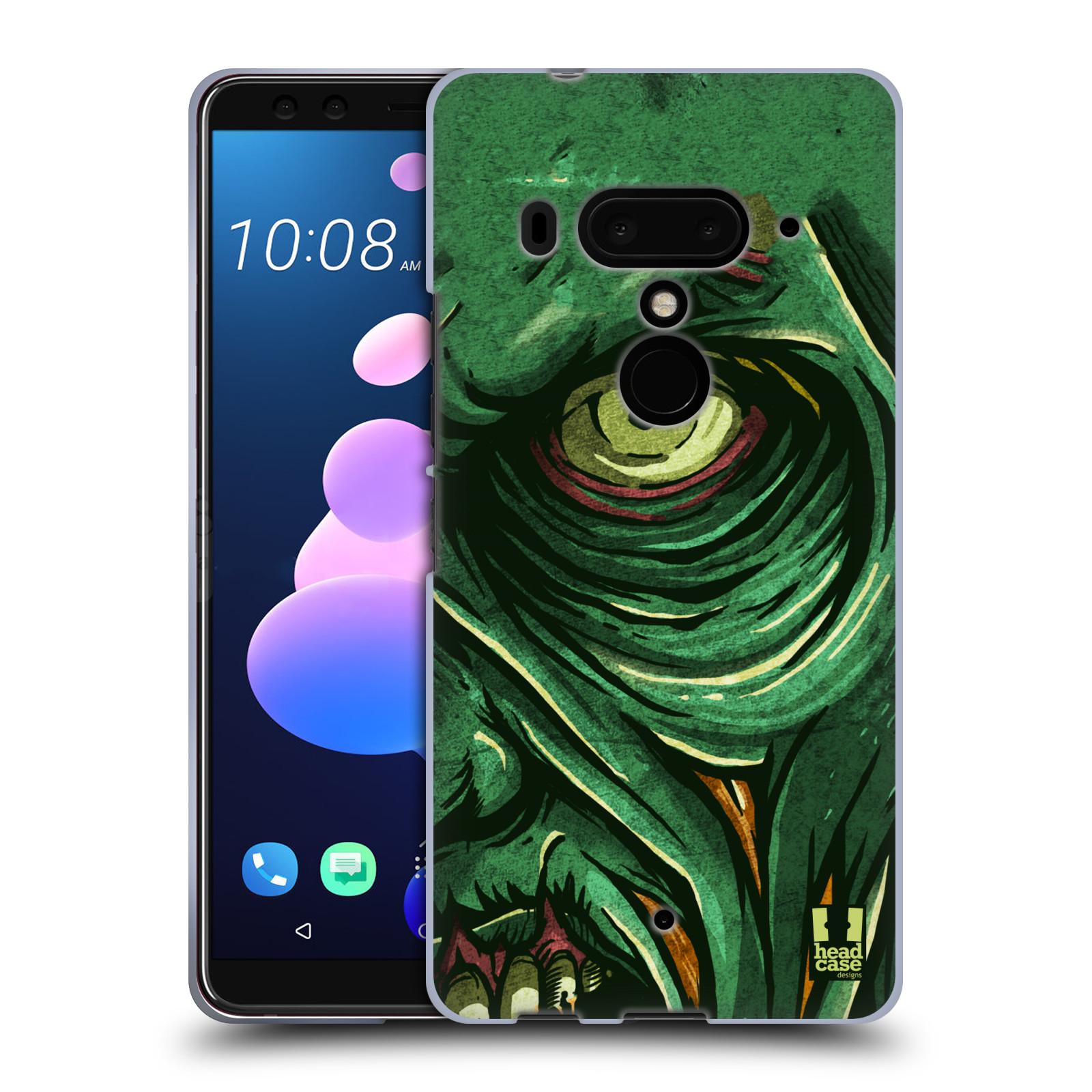 Silikonové pouzdro na mobil HTC U12 Plus - Head Case - ZOMBIE TVÁŘ