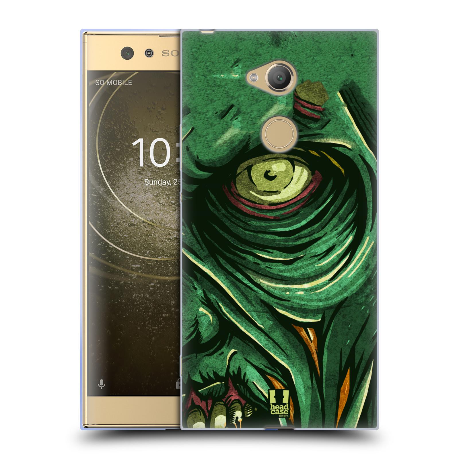 Silikonové pouzdro na mobil Sony Xperia XA2 Ultra - Head Case - ZOMBIE TVÁŘ