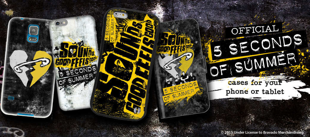 buy popular d2fb1 684fa 5 Seconds of Summer Phone & Tablet Cases – Head Case Designs